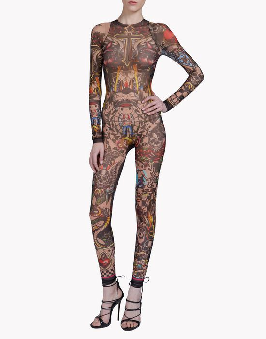 tattoo jumpsuit underwear Woman Dsquared2