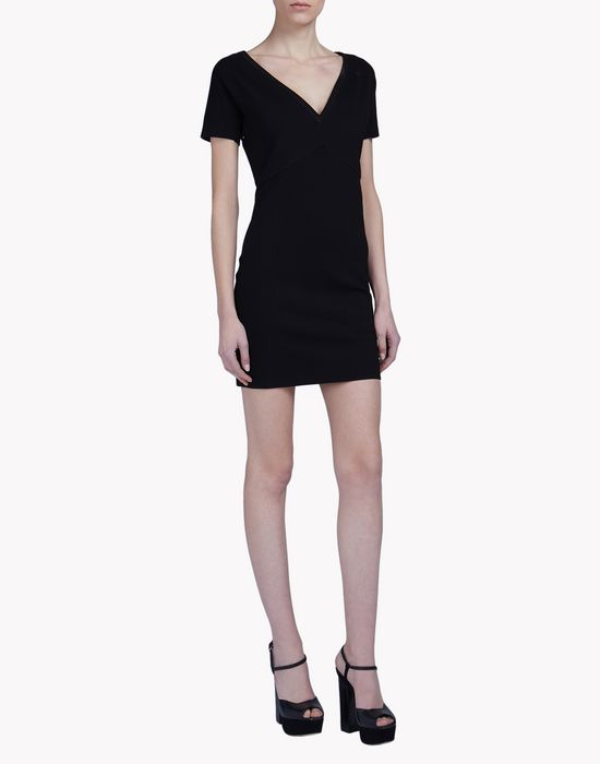 v-neck dress dresses Woman Dsquared2