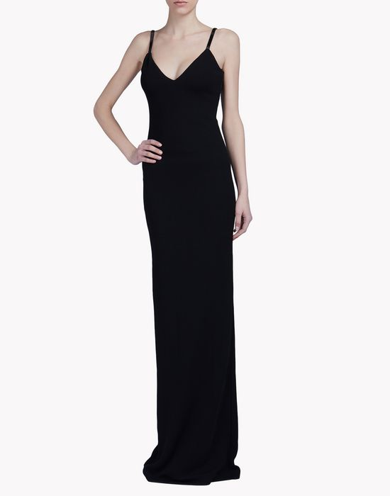 v-neck gown dresses Woman Dsquared2