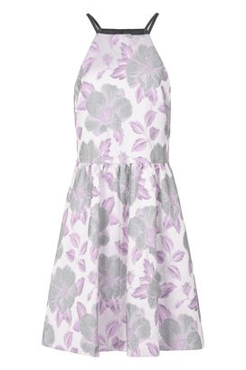 Armani Short Dresses Women floral jacquard dress
