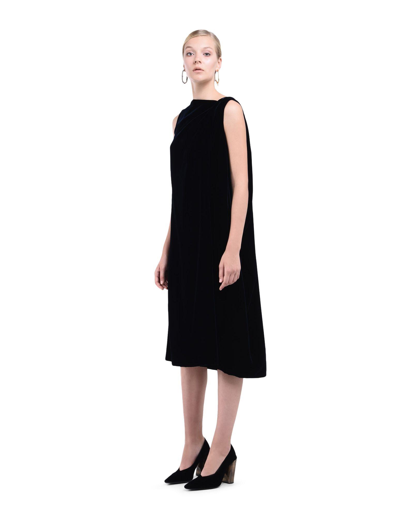 Velvet Dress - JIL SANDER Online Store