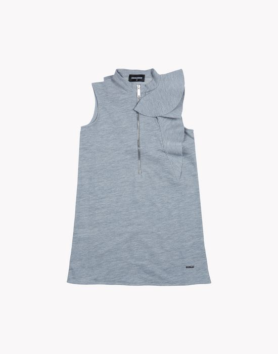 zipped shift dress dresses Woman Dsquared2
