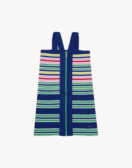 striped knit mini dress vestidos Mujer Dsquared2