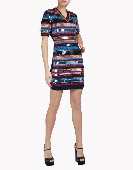 knit sequin mini dress vestiti Donna Dsquared2