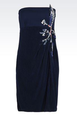 Armani Dresses Women appliqué empire-line dress