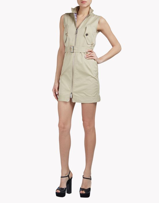 cargo belt dress dresses Woman Dsquared2