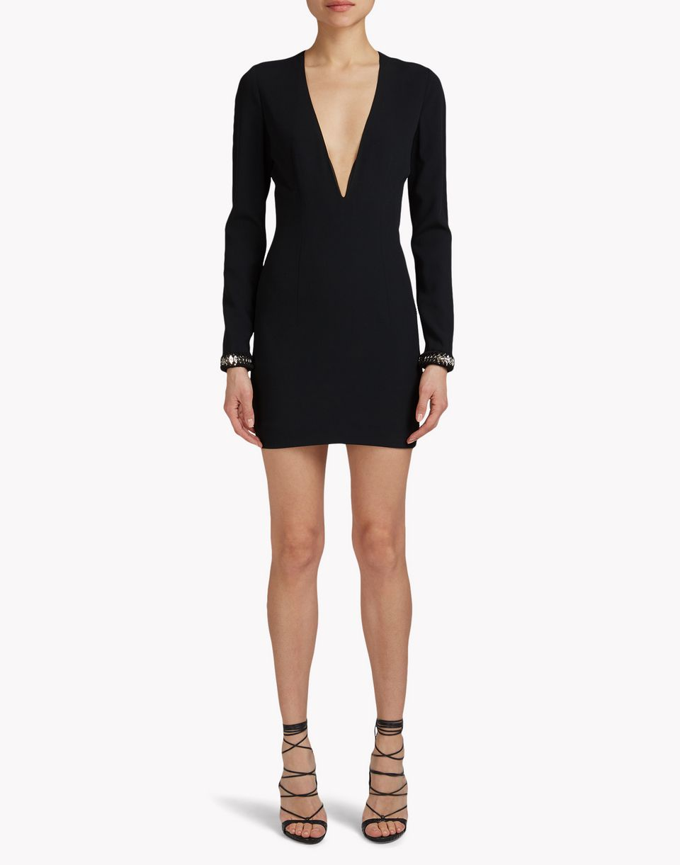metallic coin embroidered mini dress dresses Woman Dsquared2