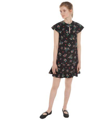 REDValentino NR3VA56134N 0NO Printed dress Woman d