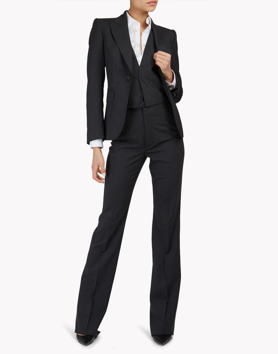 vest suit combined look Woman Dsquared2