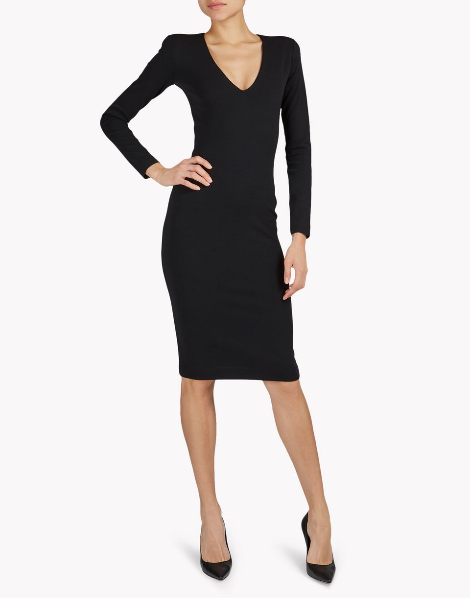wool midi dress dresses Woman Dsquared2