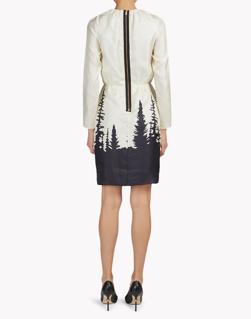 forest silk dress dresses Woman Dsquared2