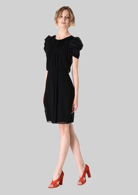Armani Dresses Women silk georgette princess dress