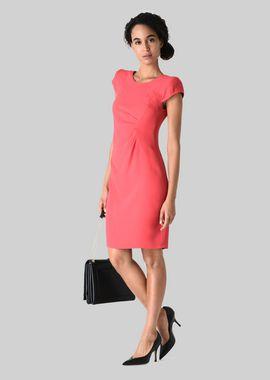 Armani Dresses Women silk blend sheath dress