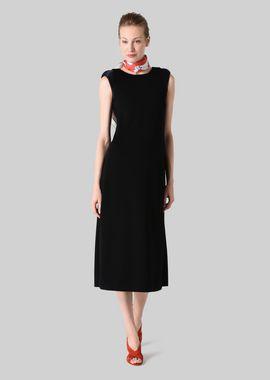 Armani Dresses Women long dress in stretch jersey