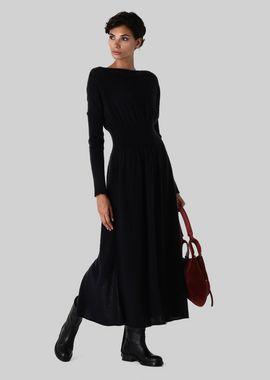 Armani Dresses Women mohair and silk long dress