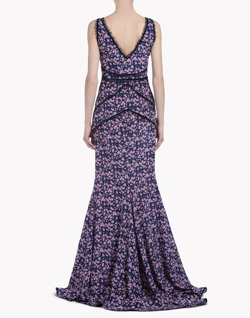 blooms of winter maxi dress dresses Woman Dsquared2
