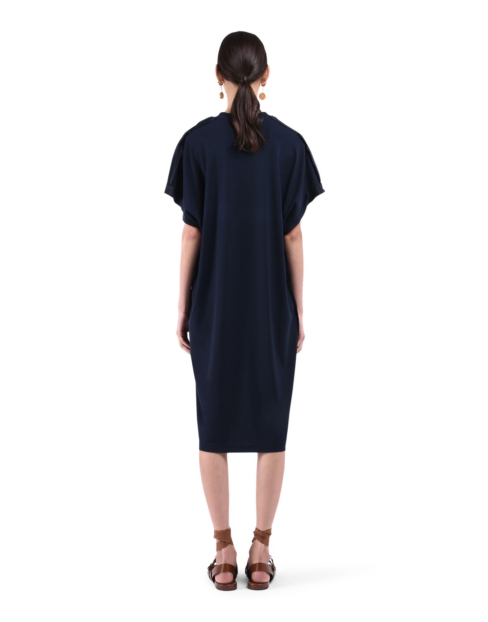 3/4 length dress - JIL SANDER Online Store