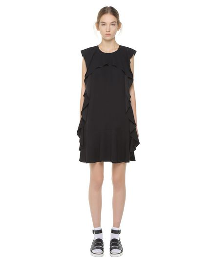 Dress for Women, Evening Cocktail Party On Sale, Red Valentino, Black, Silk, 2017, 12 Valentino