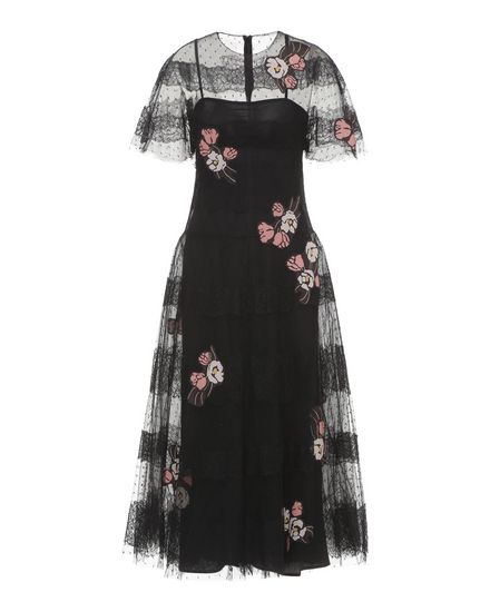 REDValentino Embroidered dress Woman PR3VA6501GK 0NO a