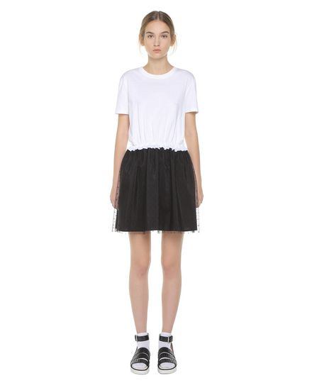 REDValentino Jersey dress Woman PR3MJ06W3LJ A01 f