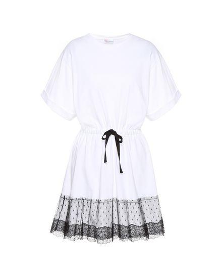 REDValentino Jersey dress Woman PR3MJ06V3LH A01 a