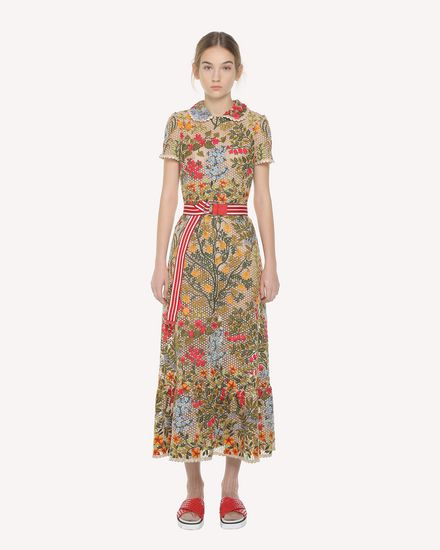 REDValentino Embroidered dress Woman PR3VA08K3H2 404 f