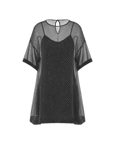 REDValentino Jersey dress Woman PR3VA6213FM 0NO a