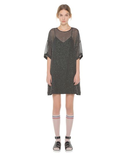 REDValentino Jersey dress Woman PR3VA6213FM 0NO f