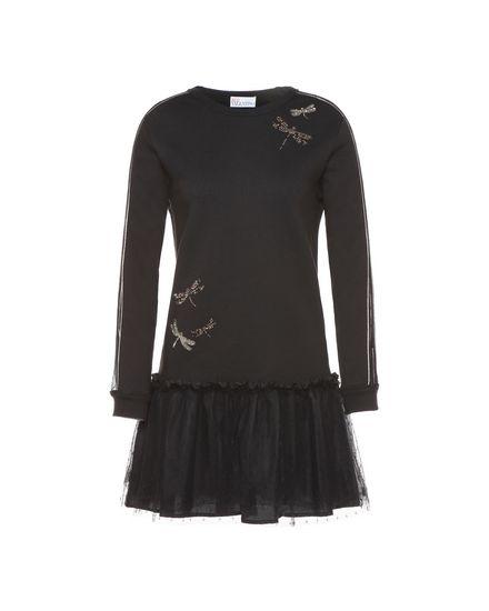 REDValentino Jersey dress Woman PR3MJ07K3M1 0NO a
