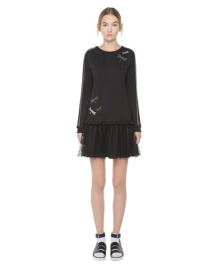 REDValentino Jersey dress Woman PR3MJ07K3M1 0NO f