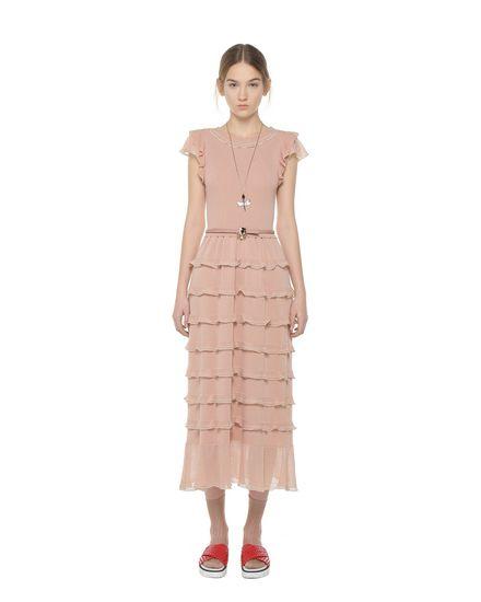 REDValentino Knit Dress Woman PR3KD05Z3K8 CO1 f