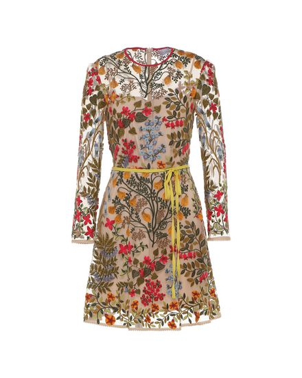 REDValentino Embroidered dress Woman PR3VA08L3GL 404 a