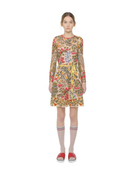REDValentino Embroidered dress Woman PR3VA08L3GL 404 f