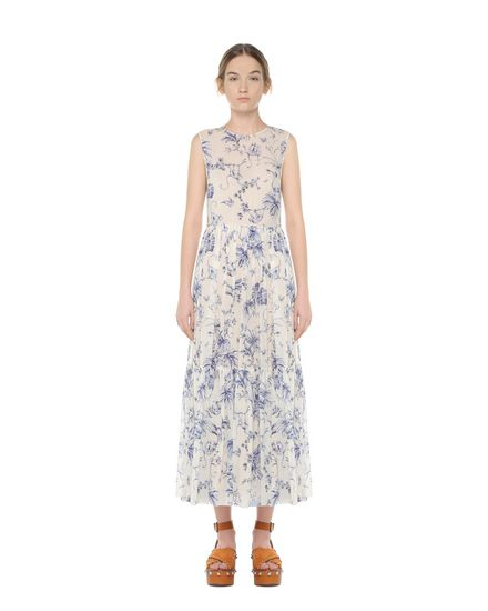 REDValentino Printed dress Woman PR0VA6L53MT A03 f