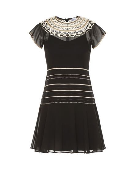 REDValentino Embroidered dress Woman PR0VA08V3QB 0NA a