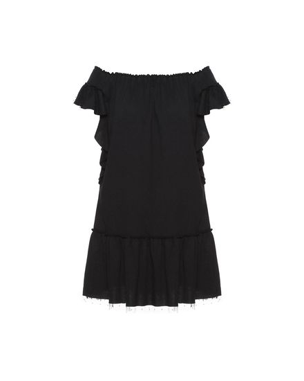 REDValentino Jersey dress Woman PR0MJ07W3NV 0NO a