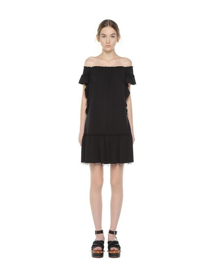 REDValentino Jersey dress Woman PR0MJ07W3NV 0NO f