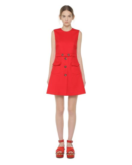 REDValentino Day dress Woman PR0VA6R03M7 FU7 f
