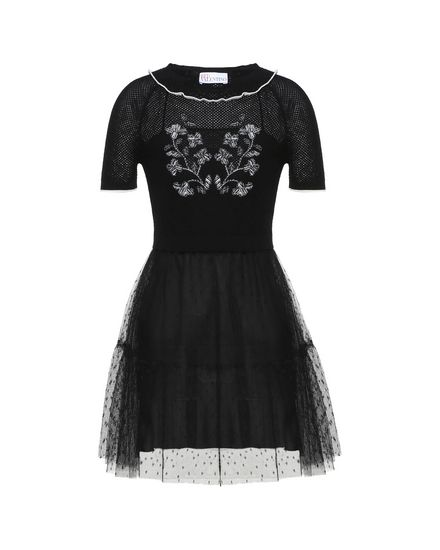 REDValentino Knit Dress Woman PR0KD0W23R0 0NO a