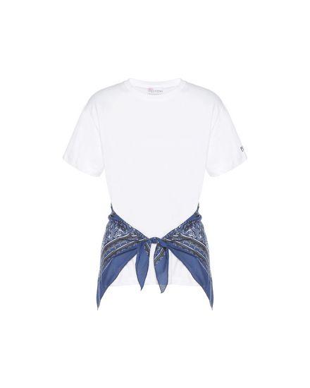 REDValentino T-Shirt Woman PR0MG09B3QR GGG a