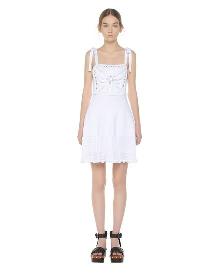 REDValentino Knit Dress Woman PR0KD0W93RH 0BO f