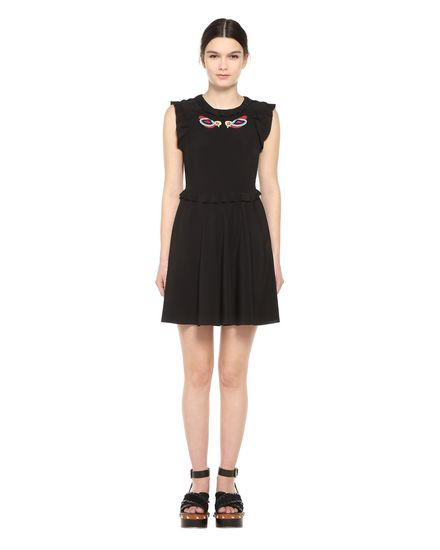 REDValentino Embroidered dress Woman PR0VA6W33M8 0NO f