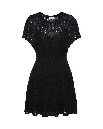 REDValentino Knit Dress Woman PR0KD0X03RJ 0NO a