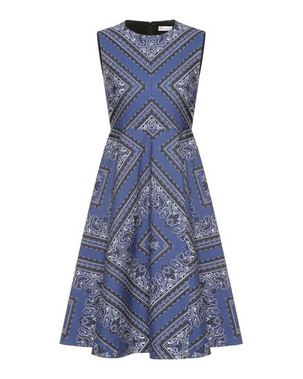 REDValentino Printed dress Woman PR0VA6K03MK AK8 a