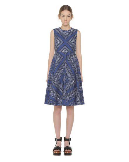 REDValentino Printed dress Woman PR0VA6K03MK AK8 f