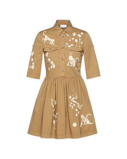 REDValentino Day dress Woman PR0VA6Y53MH 05S a