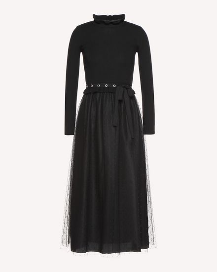REDValentino Dress Woman QR3KD0Z43WP 0NO a