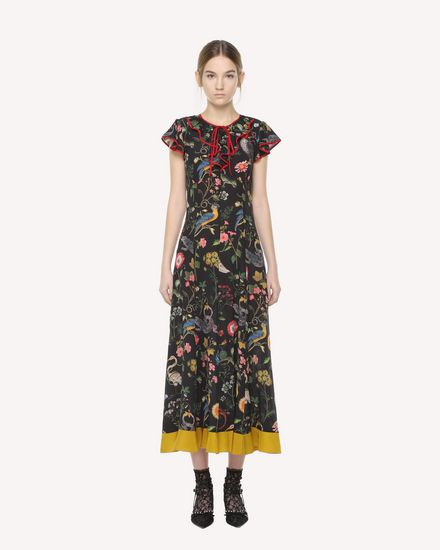 REDValentino Dress Woman QR3VA7803TT 0NO f