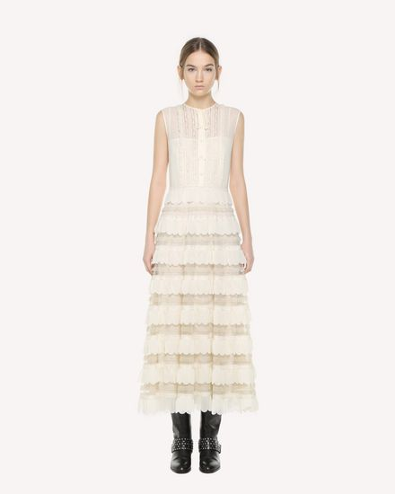 REDValentino Dress Woman QR3VA09M3UE A03 f
