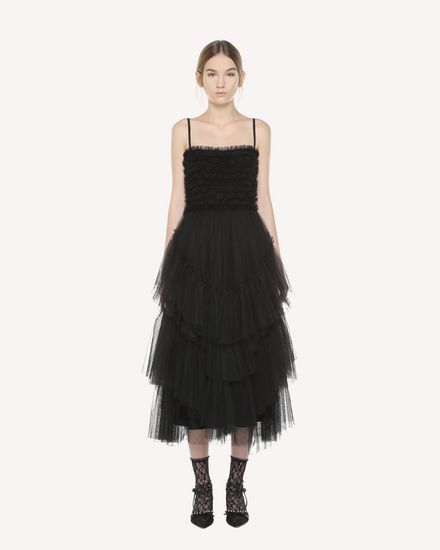 Flounced Tulle dress